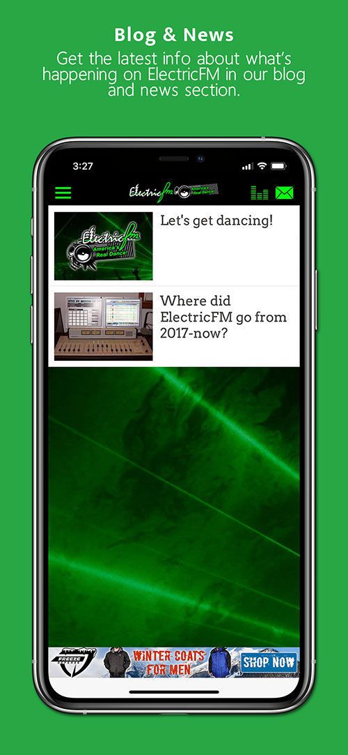 ElectricFM Commercial-free Dance Radio