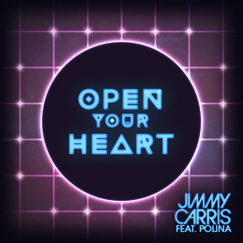 JIMMY CARRIS f/ POLINA - OPEN YOUR HEART (RADIO EDIT)