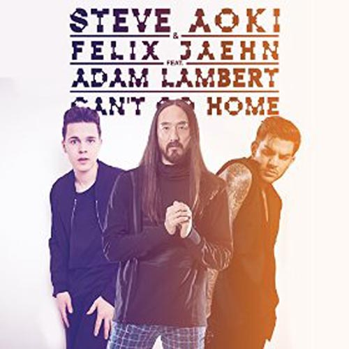 STEVE AOKI and FELIX JAEHN f/ ADAM LAMBERT - CAN`T GO HOME (RADIO EDIT)
