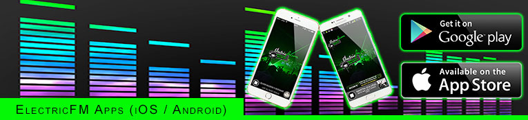 ElectricFM Apps for iPhone & Android