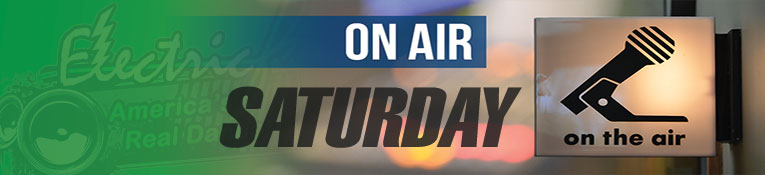 ElectricFM On-Air Schedule for Saturday