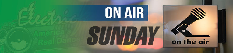 ElectricFM On-Air Schedule for Sunday