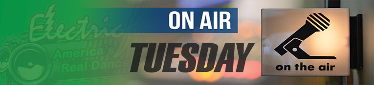 ElectricFM On-Air Schedule for Tuesday