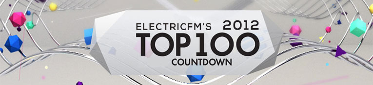 ElectricFM Top 100 of 2012