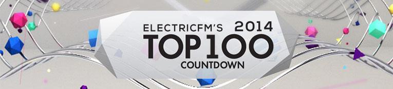 ElectricFM Top 100 of 2014