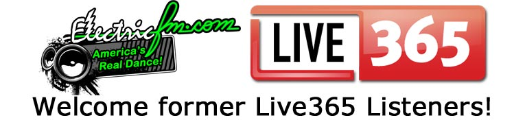 Welcome Live365 Listeners to ElectricFM