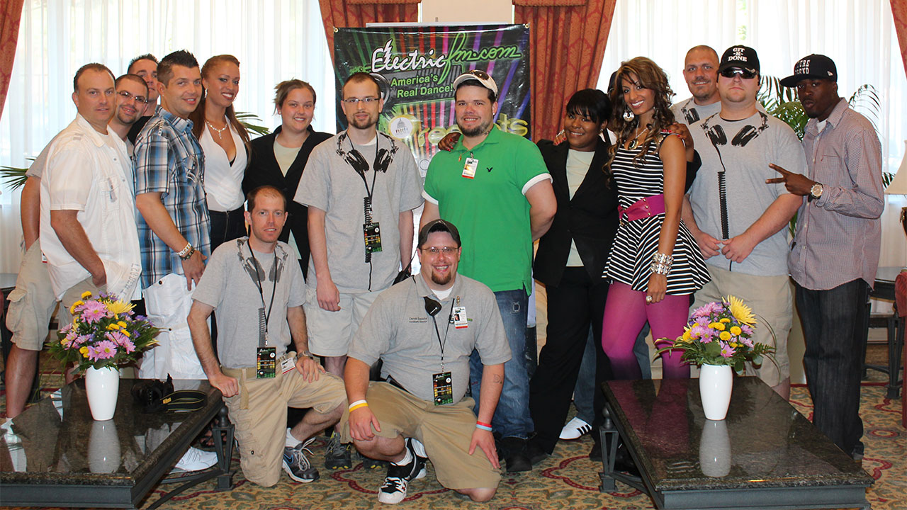 The ElectricFM Crew at 2012 Capital Pride