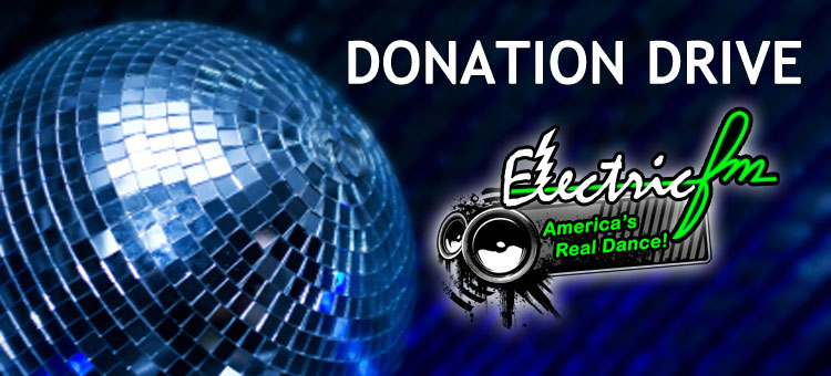 Help keep ElectricFM on the air! Make a donation today.
